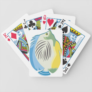 Tropical Fish 2 Bicycle Playing Cards