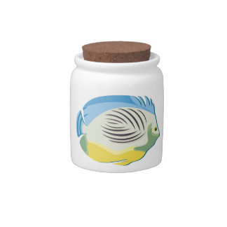 Tropical Fish 2 Candy Jar