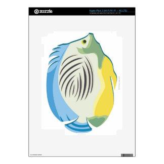 Tropical Fish 2 iPad 3 Skin