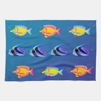 Tropical Fish 2 Kitchen Towel