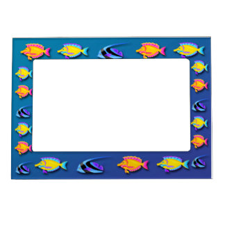 Tropical Fish 2 Magnetic Frame