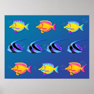 Tropical Fish 2 Poster/Print Poster
