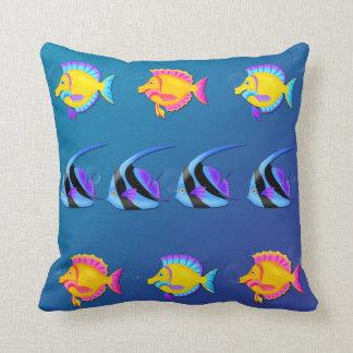 Tropical Fish 2 Throw Pillow