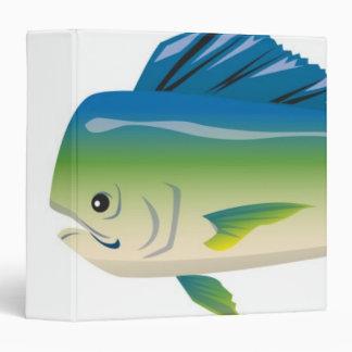 Tropical Fish 3 Ring Binder