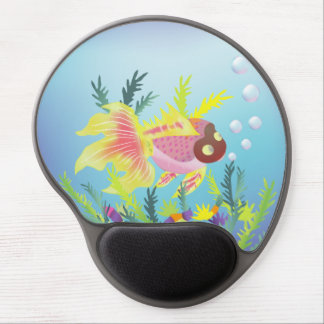 Tropical Fish and Reef Mousepad Gel Mouse Mat