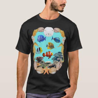 Tropical Fish and Reef Shirt