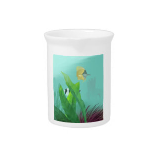 Tropical Fish Beverage Pitcher