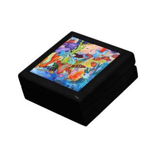 Tropical Fish Box Keepsake Box