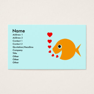 Tropical Fish  Breeder Pool Maintenance Card