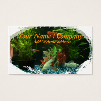 Tropical Fish Business Card 2