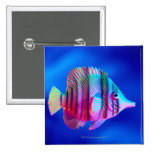 Tropical Fish Button