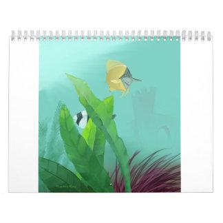 Tropical Fish Calendar