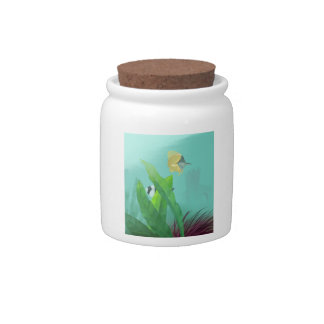 Tropical Fish Candy Jars
