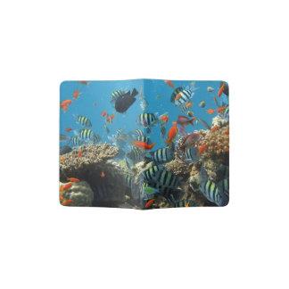 Tropical Fish Chaos Passport Holder