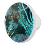 Tropical Fish Coral Reef Ceramic Knob