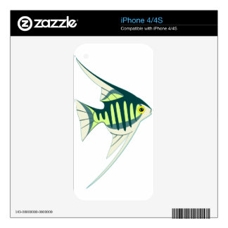 Tropical Fish Decal For The iPhone 4