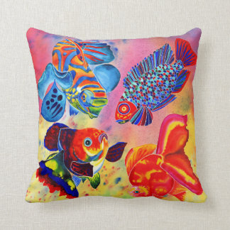 Fish Design Pillows - Decorative & Throw Pillows Zazzle
