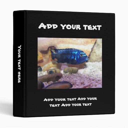 Tropical Fish Digital Watercolor Binders