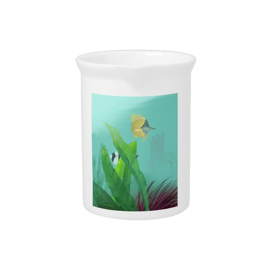 Tropical Fish Drink Pitchers