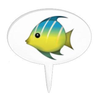 Tropical Fish - Emoji Cake Topper