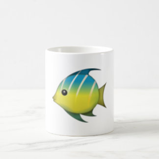 Tropical Fish - Emoji Coffee Mug