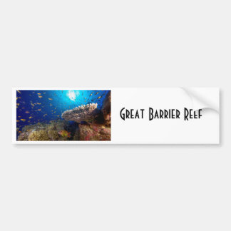 Tropical Fish Great Barrier Reef Coral Sea Gift Bumper Sticker