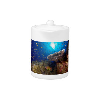 Tropical Fish Great Barrier Reef Coral Sea Gift Teapot