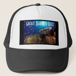 Tropical Fish Great Barrier Reef Coral Sea Gift Trucker Hat