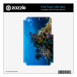 Tropical Fish Great Barrier Reef Coral Sea iPod Touch 4G Decal