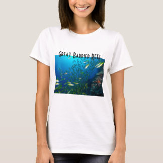 Tropical Fish Great Barrier Reef Coral Sea T-Shirt
