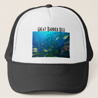Tropical Fish Great Barrier Reef Coral Sea Trucker Hat