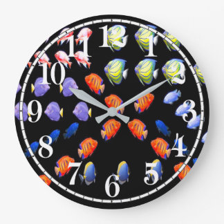 Tropical fish image for Acrylic Wall Clock