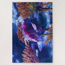 Tropical Fish in an Aquarium. Jigsaw Puzzle