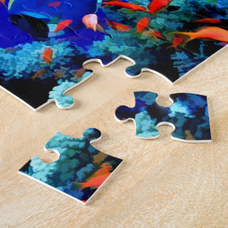 Tropical Fish in Coral Sea Puzzles