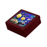 Tropical Fish in Coral Sea Trinket Boxes