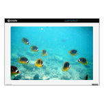 Tropical Fish in Hawaii Skin For Laptop