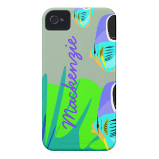 Tropical Fish iPhone 4 Cover