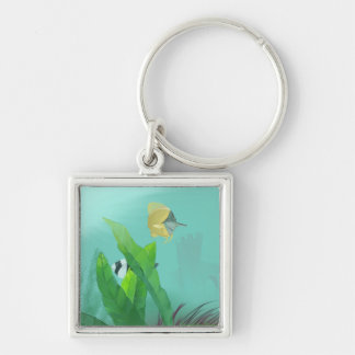 Tropical Fish Keychain