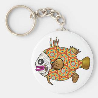 Tropical Fish Keychain - 03