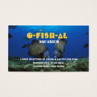 Tropical Fish l Aquarium-Related Business Business Card