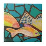 Tropical Fish Mosaic Tile