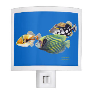 Tropical fish night light
