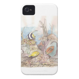 Tropical Fish - original watercolor by Molly Case-Mate iPhone 4 Case