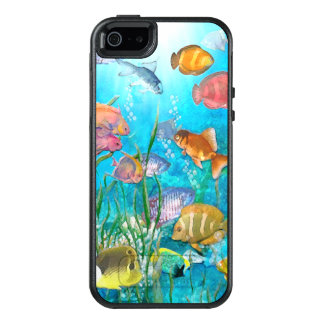 Tropical Fish OtterBox iPhone 5/5s/SE Case