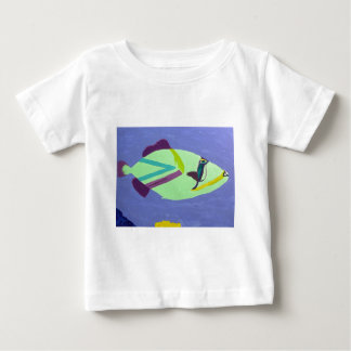Tropical Fish Painting Gifts Baby T-Shirt