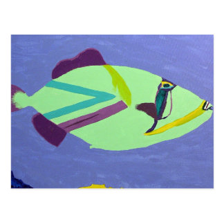 Tropical Fish Painting Gifts Postcard