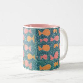 Tropical Fish Pattern Mug