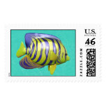 Tropical Fish Postage Stamp