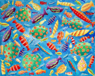 Tropical Fish Posters