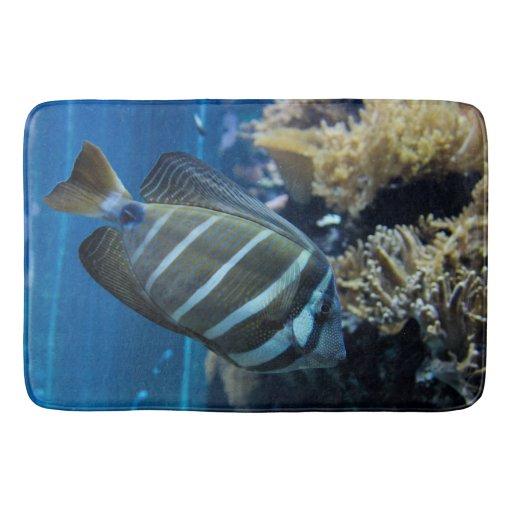 Tropical Fish Rug Mat Home Decor Bathroom Bathroom Mat